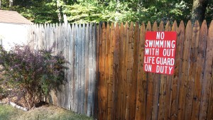 Pressure washing and painting and staining services for fences in West Milford, NJ