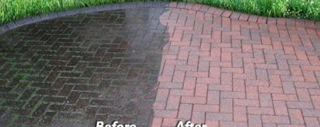 Residential Concrete & Hardscape Cleaning