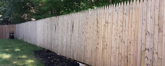 Residential Wood Deck & Fence Cleaning