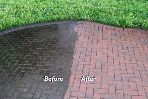 Concrete and Hardscape Cleaning
