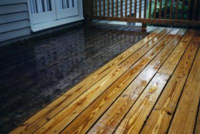 Pressure wash deck cleaning and staining in West Milford, NJ