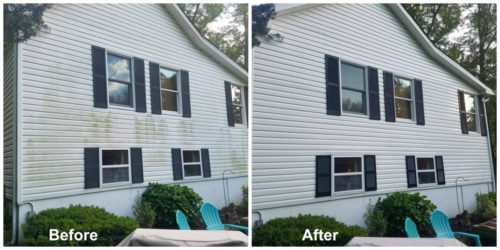 West Milford-New Jersey House Washing